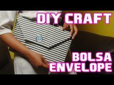 Veja como eu fiz a uma bolsa envelope / See how I made a clutch bag