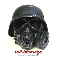 Fallout New Vegas NCR Ranger Helmet & Gas Mask by Roll4Damage ...