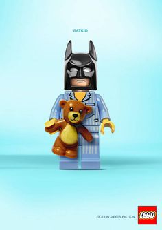 LEGO Encouraged Bizarre Combos Of Characters In Their Latest Ad Campaign & It Was Awesome | Deveoh!