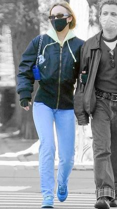 Lily Depp, Lily Rose Depp Style, Off Duty, Veronica, Color Splash, Jackets For Women, Friday, Street Style, York