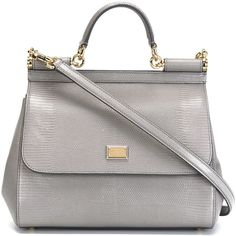 Dolce & Gabbana small 'Sicily' tote (£1,150) ❤ liked on Polyvore