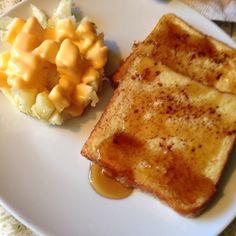 French Toast w/ cheesy Patato