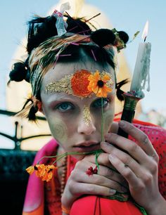 Tim Walker, Edie Campbell and Jacob K head to Burma for a special shoot for W Magazine.