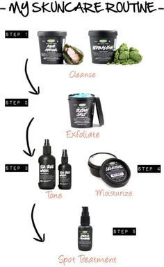my skincare routine for acne and sensitive skin. #nailcare