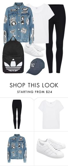 """""""Untitled #3005"""" by theaverageauburn on Polyvore featuring Splendid, Frame, adidas Originals and Topshop"""