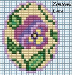 Beading Patterns Free, Bead Loom Patterns, Peyote Patterns, Cross Stitch Patterns, Mini Cross Stitch, Beaded Cross Stitch, Cross Stitch Flowers, Seed Bead Crafts, Beaded Crafts