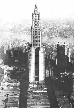 New York Architecture Images- THE WOOLWORTH BUILDING