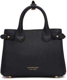 Burberry Black Small Banner Tote Women's Accesories   Women's Fashion #fashion #womensfashion #style