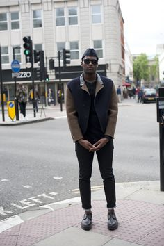 #militaire #style Street Style London LMC