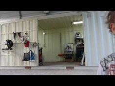 ▶ shipping containers home work shop part 2 - YouTube - this is an awesome workshop