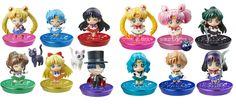 Sailor Moon Petit: nuova versione con base glitter e una cura dei dettagli impressionante in soli 6 cm