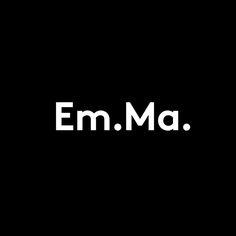 Emma Magnusson Arkitektur by Lundgren+Lindqvist, 2016. #branding #logotype