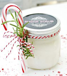 Make a batch of this sugar scrub for your colleagues, kids' teachers, or your book club pals this holiday season.
