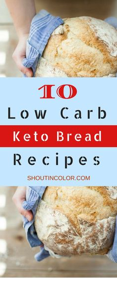 Low carb keto bread recipes that are easy and very versatile. Bake them on the weekend, freeze and have them on-hand when you need them! #keto #ketogenic #ketodiet #lowcarb #ketorecipes #recipe #ketobread