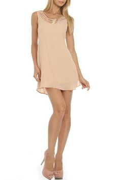 Cecico Feels Like Summer Dress in Blush - Last chance sale at Beyond the Rack