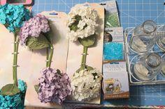 Faça você mesma: facílimo arranjo floral coloridinho. Blog Achados de Decoração - Adorei !!!