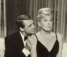 """Cary Grant and Doris Day in """"That Touch of Mink"""" (1962)"""