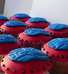 Autobots-Transformers cupcakes by Mily'sCupcakes, via Flickr