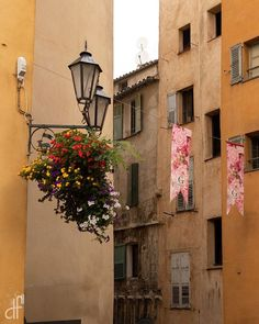 The beautiful pastel colours of Grasse in the south of France. Nice France, South Of France, Easy Day, French Countryside, French Riviera, Travel Light, Sounds Like, S Pic, Day Trips
