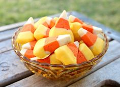 Candy Corn Cookies + other Halloween Snack Ideas