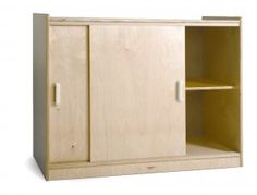 Decoration With Storage Cabinet With Doors For You