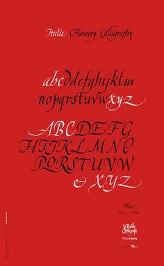 Italic Chancery Calligraphy - peggo 2015