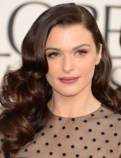 A Love Affair With Eyeliner: Beauty: Favorite Golden Globe Red Carpet Hair & Makeup Looks