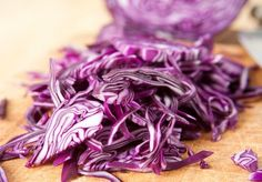 Updated Healthy Red Cabbage Salad