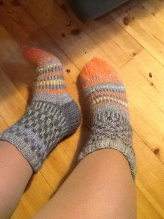 Warm double stitced socks