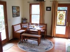 Dining Nook of Rose Cottage