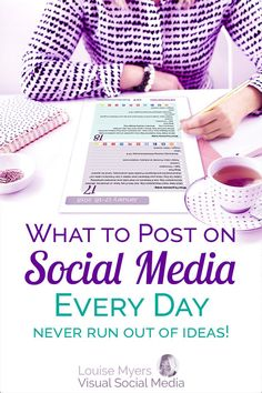 With your Social Media Content Planner, you'll know what, where, and when to post to attract leads to your business daily. Click to website to buy! Get over 150 post ideas each month. Perfect for small business owners, bloggers, and entrepreneurs. #planner #socialmediamarketing #marketingtips #plannerlove #smm #contentmarketing