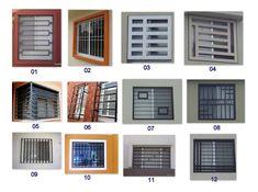 Home Window Grill Design, Grill Gate Design, Window Grill Design Modern, Balcony Grill Design, Door Gate Design, House Gate Design, Window Design, Modern House Design, Modern Main Gate Designs