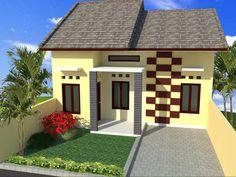 cat depan rumah yang cantik #rumah #minimalis #fasad #desain