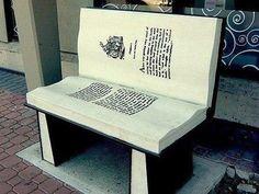 книга-скамейка