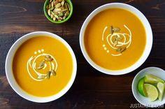 Thai Coconut Pumpkin Soup Recipe