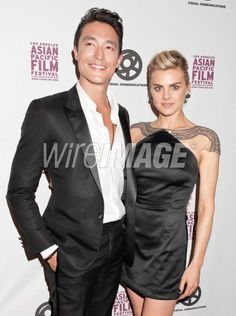 Daniel Henney and Eliza Coupe...