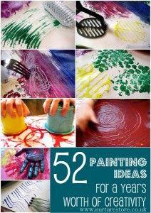 52 techniques de peinture