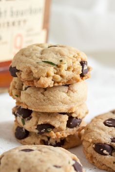 Powder, Triple chocolate chip cookies and White chocolate on Pinterest