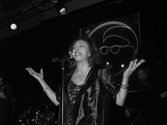 Candi Staton at Band On The Wall in Manchester. She let me sing the chorus to Young Hearts Run Free. Shame I can't sing to save my life! Unforgettable though.