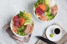 Brown Rice Chirashi