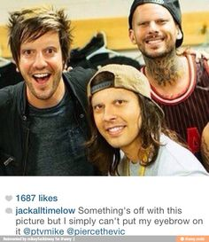 Hahahaa they all look like pedophiles... Not even lying... Jack looks so scary, Vic looks weird and Mike looks... I don't even know...