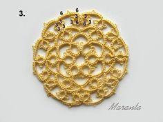 Moje schematy frywolitkowe Tatting, Gold Necklace, Bracelets, Jewelry, Diy And Crafts, Dressmaking, Accessories, Gold Pendant Necklace, Jewlery