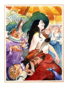 Hans Christian Andersen. The Emperor's New Clothes. Illustrator Omar Rayyan.
