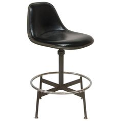 Early Eames La Fonda Drafting Stool, 1961   From a unique collection of antique and modern stools at https://www.1stdibs.com/furniture/seating/stools/