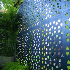 OUTDECO Osaka Garden Screen decorative garden and privacy screens. Laser cut screens in weathertex