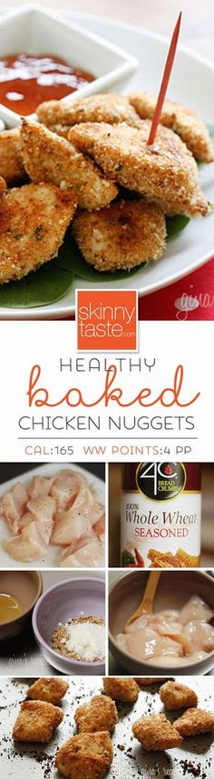 Healthy Baked Chicken Nuggets –an easy chicken recipe your whole family will love!