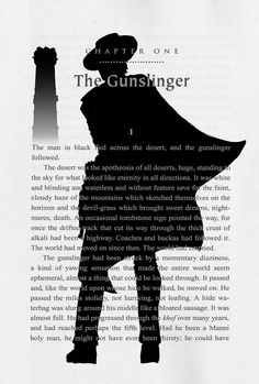 Dark Tower print This is my Harry Potter. Love, Love, Love Roland. Love the series. <3