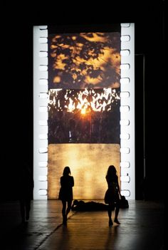 Tacita Dean, Film, 2011: an 11-minute, silent, 35mm looped film projected onto a monolith 13 metres tall at the end of a darkened Turbine Hall at the Tate Modern.