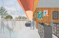 Gallery of Adjaye Associates Reveals Design of Winter Park Library and Events Center in Florida - 4