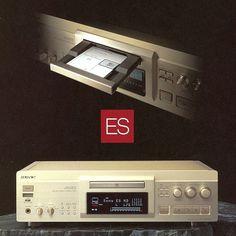 Elevated Standard | SONY 1996 Sony Electronics, Hi Fi System, High End Audio, Hifi Audio, Digital Audio, Audio Equipment, Audiophile, Vintage, Monitor